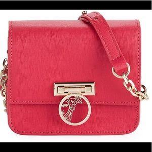 Authentic Versace saffiano crossbody bag